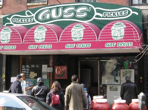 Guss Pickles New York City