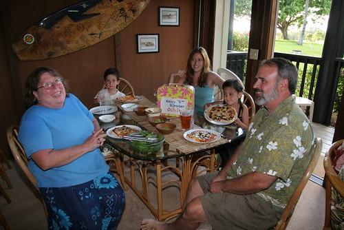 olivia's birthday dinner?