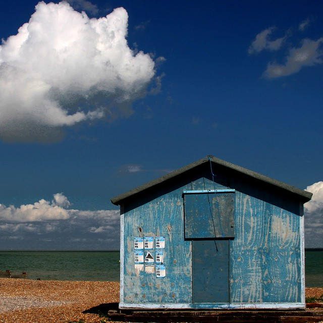 The Amazing Story of the Lonely Beach Hut and its Very Own Cotton Cloud