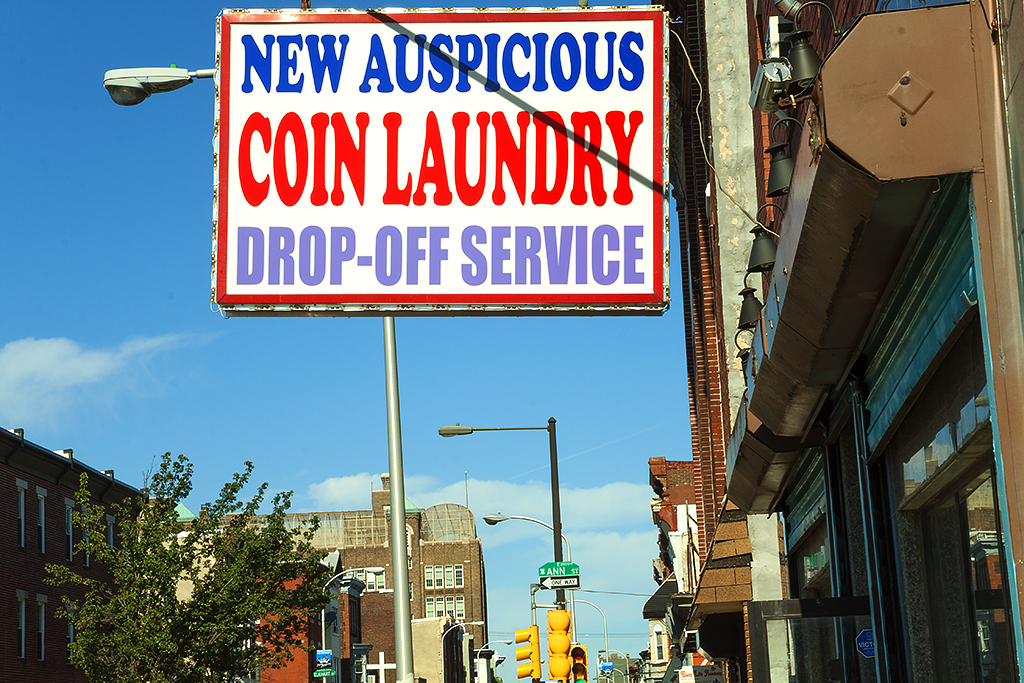 NEW AUSPICIOUS COIN LAUNDRY--Kensington