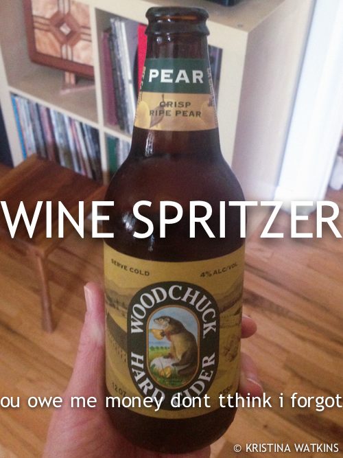 Cider Test - 4 Woodchuck Pear
