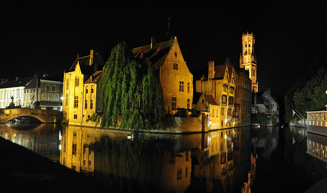 Reflections Bruges Belgium