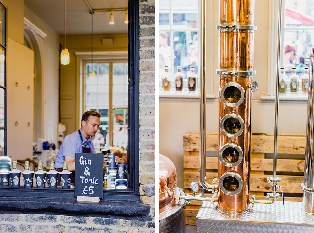 Camden Lock Live 2015 half hitch gin brewery