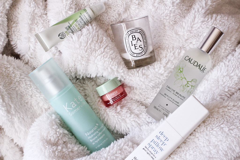 beauty products for a sick day