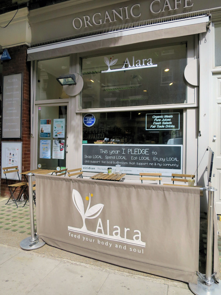 Alara Organic Café   An awful lot to read here  Feed your bo…   Flickr