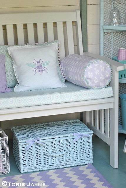 Bench in my summer house