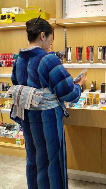 Pen shopping, Ito Ya Ginza