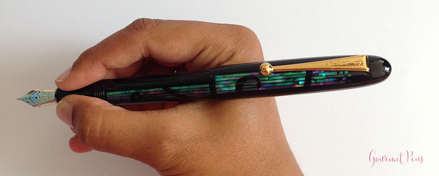 Review Namiki Yukari Nightline Moonlight Fountain Pen @CouronneDuComte (11)