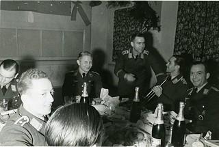 KG-4 crews in Casino November 1940-1
