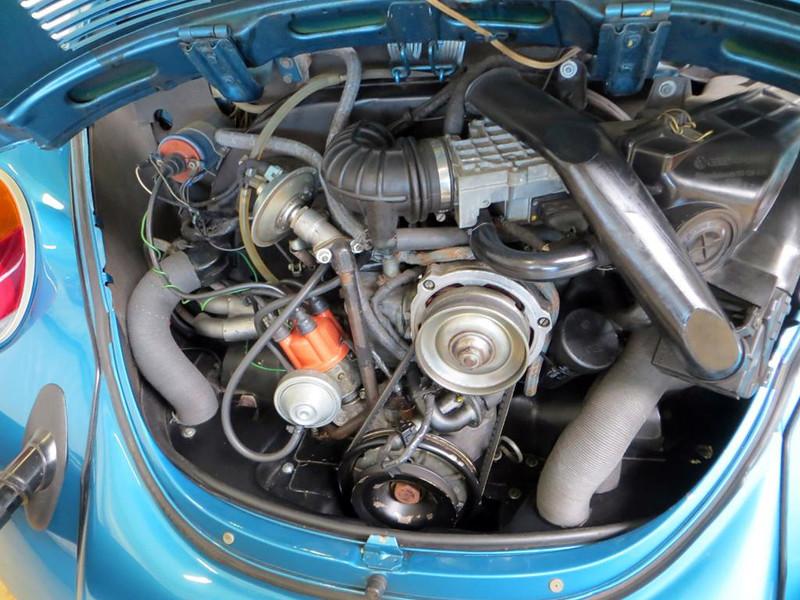 Volkswagen Kever 1303 Cabrio 1.6L Fuelinjection