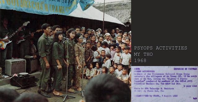 PSYOPS ACTIVITIES - MY THO 1968