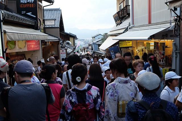 Walking around Higashiyama District