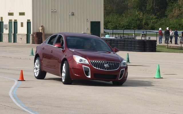 2016 Buick Regal GS Track Day