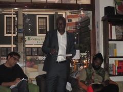 Achille Mbembe with Ashraf Jamal and Ntone Edjabe