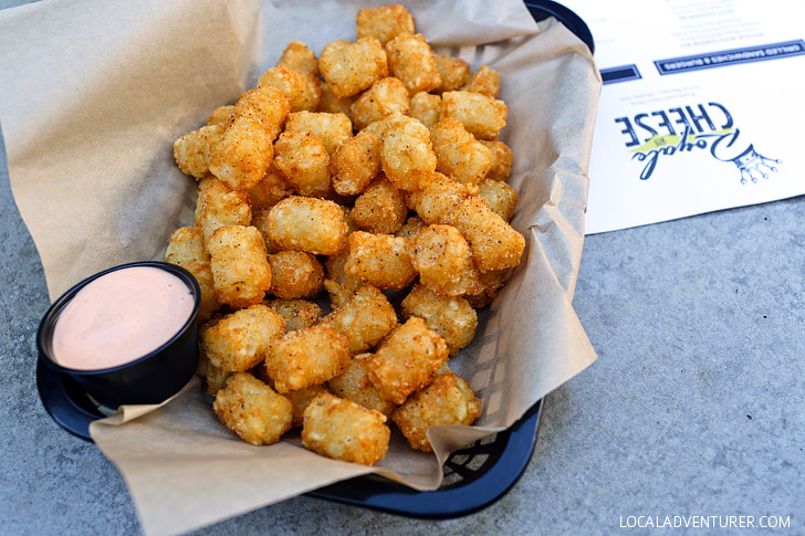 Koontz' Magical Mystery Tots at Royale with Cheese San Diego.
