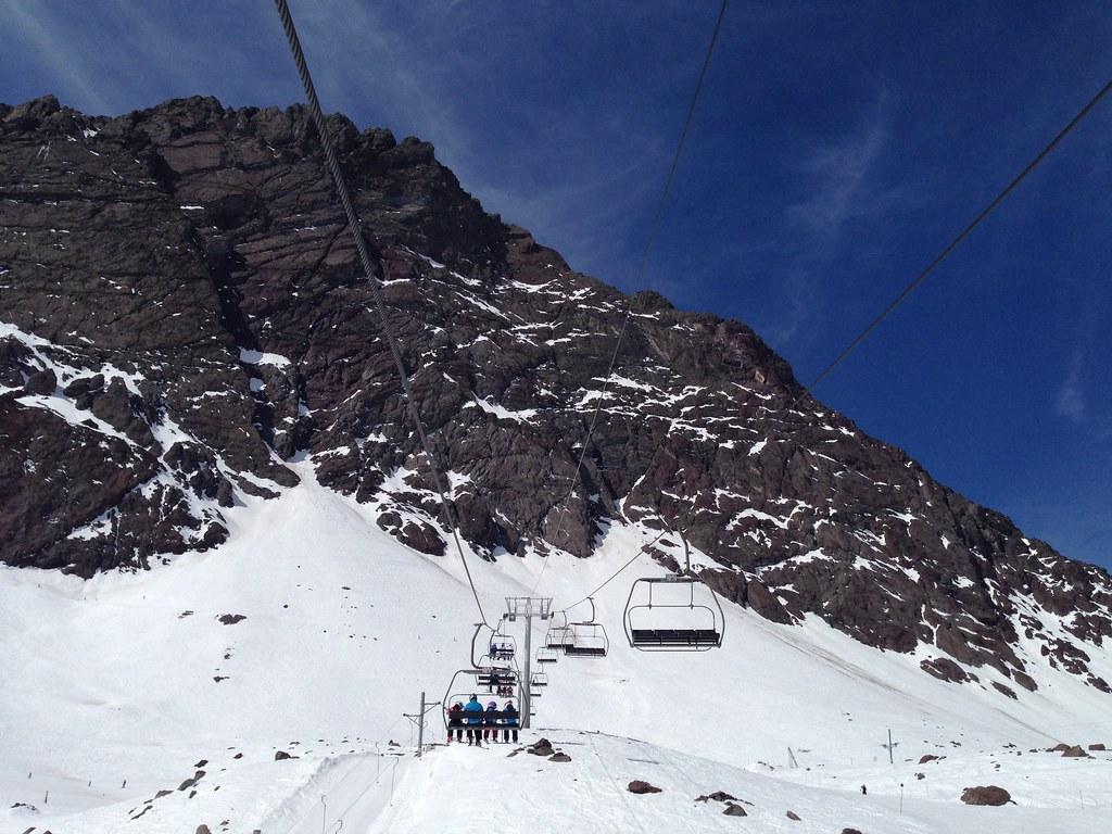 Las Lomas chairlift
