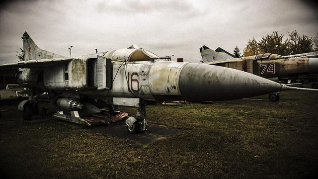 Soviet Aircraft Graveyard