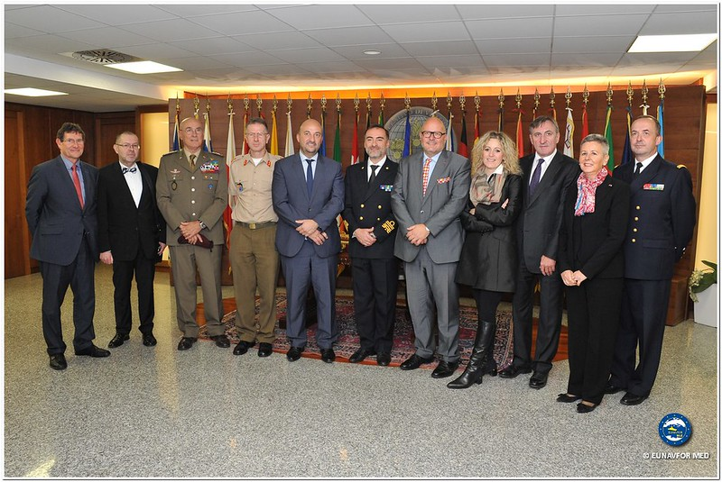 Luxembourg Deputy Prime Minister and Minister of Defence visits EU OHQ Rome – EUNAVFOR MED