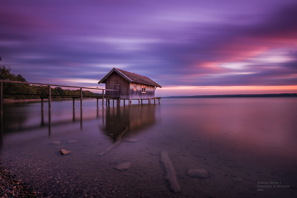 Lake Ammersee at sunset II