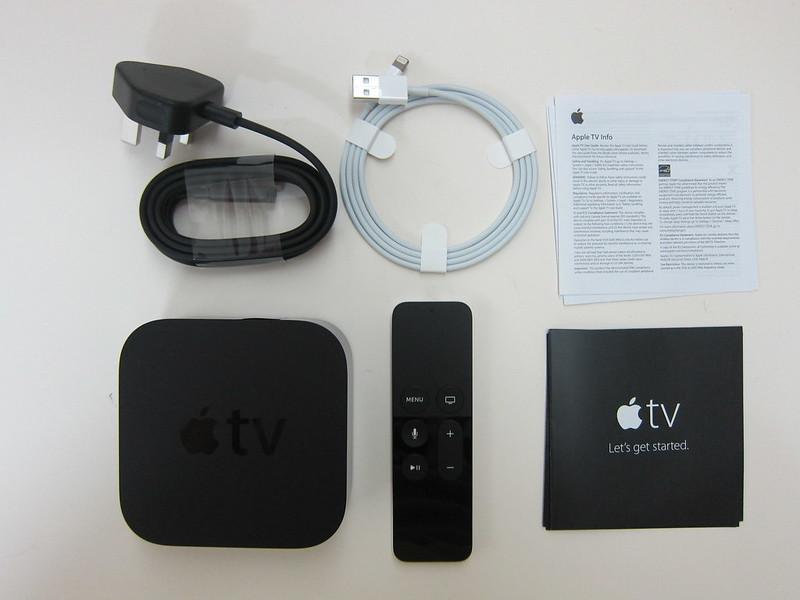 Apple TV (4th Generation) - Box Contents