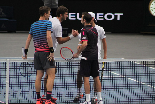 Berdych, Stepanek, Martin and Pouille