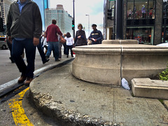 Moon rock 76055 found on MIchigan Avenue median in Chicago