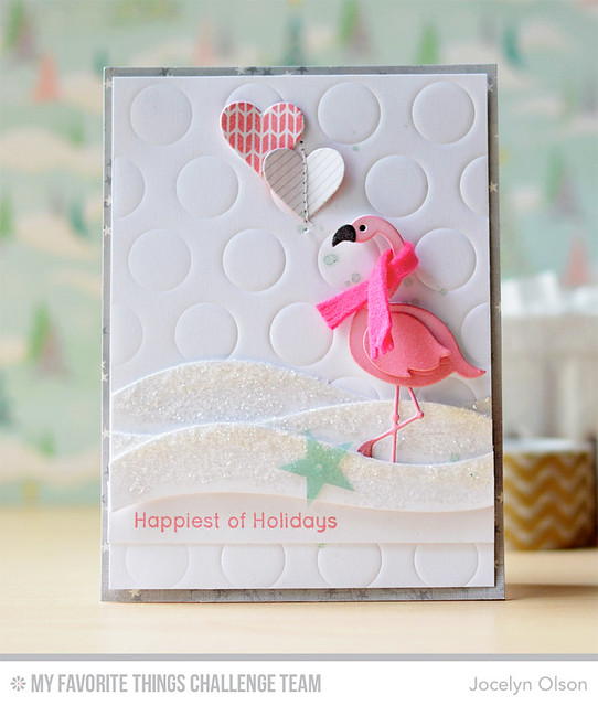 Winter Flamingo