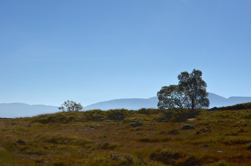 Images from the road from Glencoe to Kinloch Rannoch