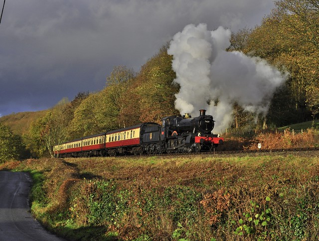 30742 Charters - 7820 on the Severn Valley Railway