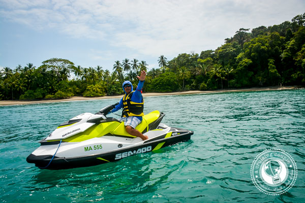 Jet Skiing in Manuel Antonio National Park