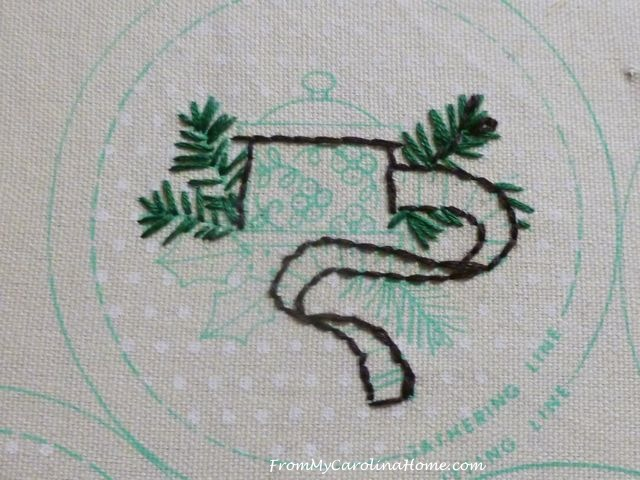 Slow Stitching week 6 - 2