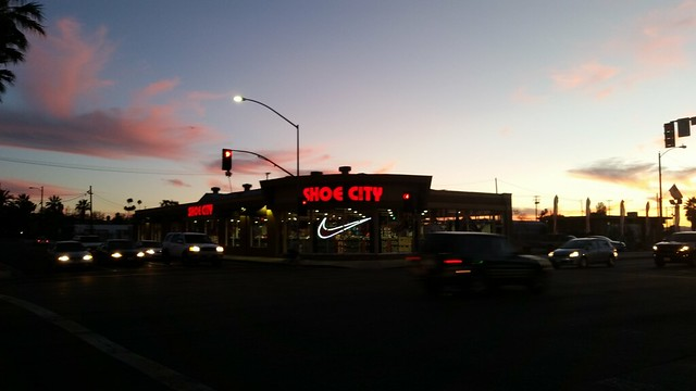 Downtown Hemet - Shoe City. former Tri Buick.