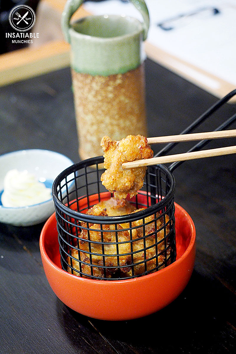 Chicken Karaage, Yurippi, Crows Nest: Sydney Food Blog Review