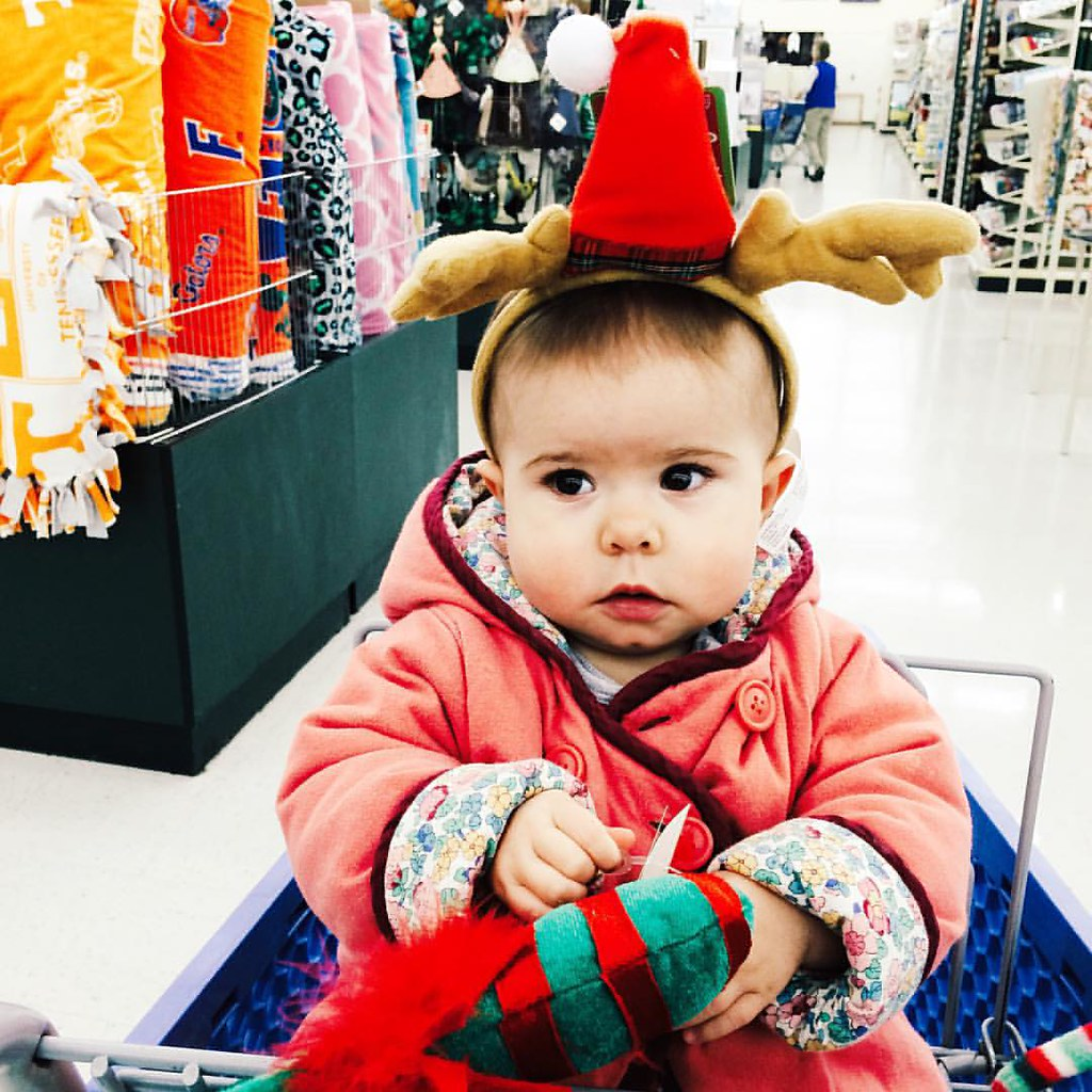 This little reindeer is 10 months old today! #tenmonths #baby #children #childhood #instasinclair
