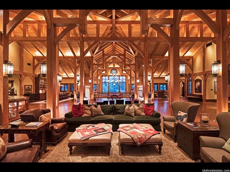 Очень красивый интерьер дома в Юте