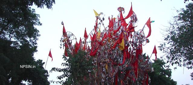 श्री बालाजी महाराज शक्ति पीठ धाम (Shri Balaji Maharaj Shakti Peeth Dham) dedicated to Lord Hanuman Ji (Balaji). Newly constructed Jaharveer Darwar behind hawan shala dedicated to Baba Jaharveer Ji (Gogaji or Goagga or Gogga Ji).