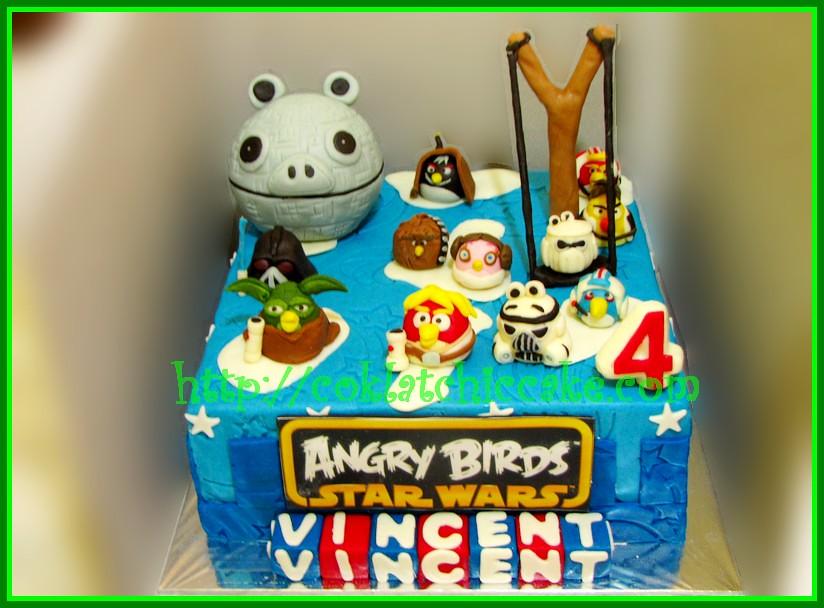 Cake Angry Bird Star Wars
