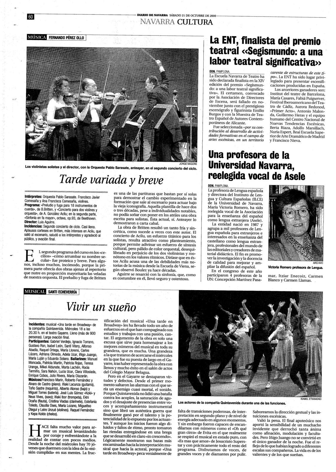 El ILCE en Diario de Navarra