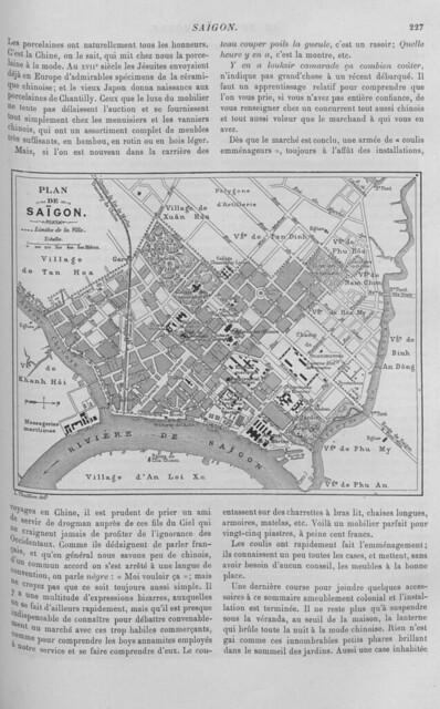 SAIGON 1893 (3) - LE TOUR DU MONDE (7-10-1893)