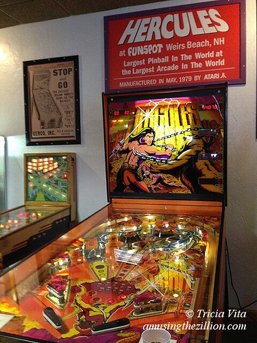 Hercules, Largest Pinball in the World
