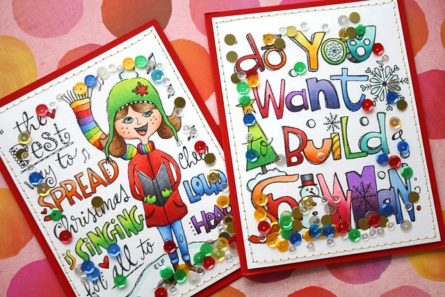 SSS-Suzy's Holiday Watercolor Doodles