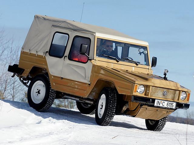 Армейский внедорожник Volkswagen Iltis (Type 183). 1978 – 1982 годы