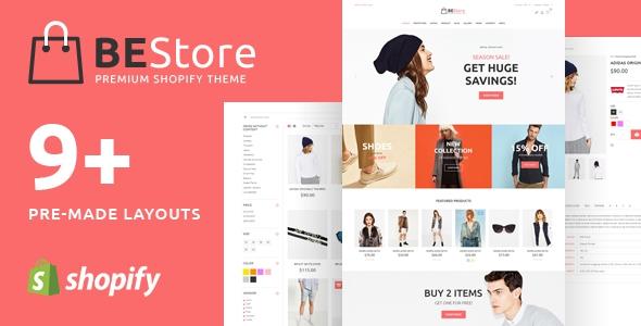 BEStore v1.0.4 – Shopify theme