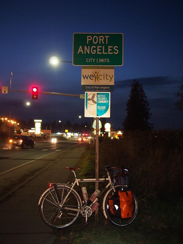 Ivory Pass Entering Port Angeles