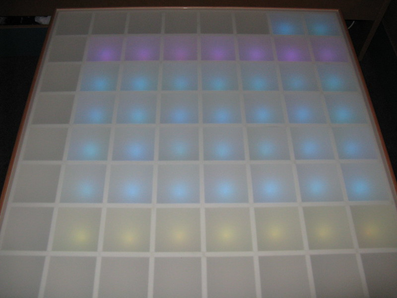 Build a rgb table 3