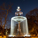 Tattnall Square Park Fountain - Downtown Macon, Georgia