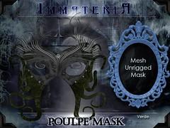 ImmateriA Poulpe Mask verde