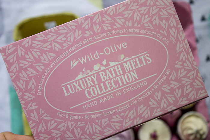 Wild Olive Luxury Bath Melts Collection from Prezzybox