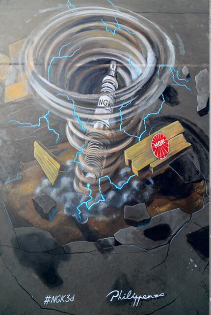 NGK показала на MIMS-2015 трехмерную свечу зажигания