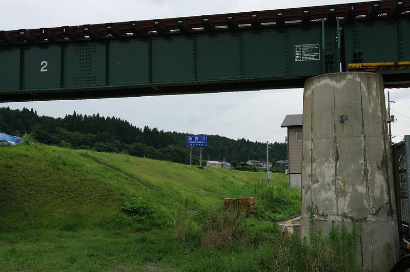 鉄橋と魚野川_201508_NO2